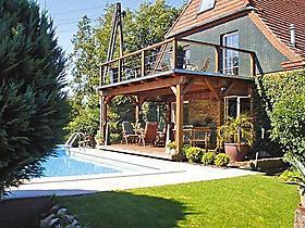 poolurlaub in deutschland ferienwohnungen und ferienh user mit pool. Black Bedroom Furniture Sets. Home Design Ideas