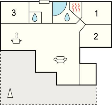 ferienhaus ringk bing f r 6 personen bei tourist online buchen nr 269481. Black Bedroom Furniture Sets. Home Design Ideas