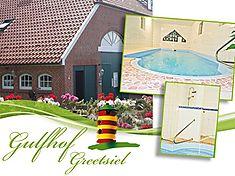 Ferienanlage in Greetsiel, Ostfriesland. Kundenbewertung: 4.6 von 5 Punkten