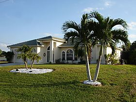 "Ferienvilla ""Three Palms"" in Cape Coral, South-West Florida (USA)"