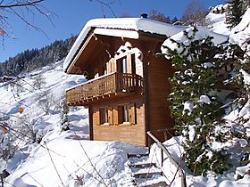 "Ferienhaus Salomon direkt an der Skipiste ""4 VALLEES"" Ski-in, Ski-out"
