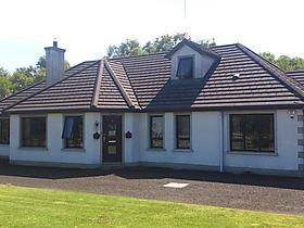 Glen Lodge in Ballymoney, Antrim County, Großbritannien
