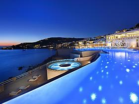 5 Sterne Anax Resort and Spa in Agios Ioannis Mykonos, Kykladen, Griechenland
