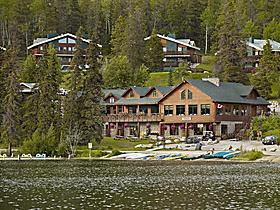 3 Sterne Pyramid Lake Resort in Jasper, Alberta, Kanada
