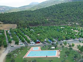 1 Sterne Camping Bungalows Mariola in Bocairent, Autonome Gemeinschaft Valencia, Spanien