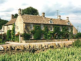 3 Sterne Inn For all seasons in Burford, Oxfordshire, Großbritannien