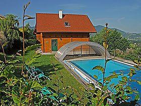 Moderne häuser mit pool in österreich  Poolurlaub in Österreich - Ferienwohnungen und Ferienhäuser mit Pool