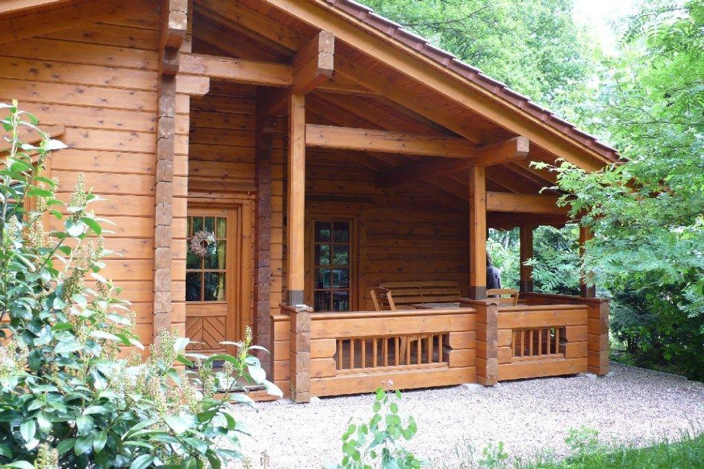 Chalet am Steinhuder Meer- Blockhaus mit Sauna oder Kamin für 4-5 ...
