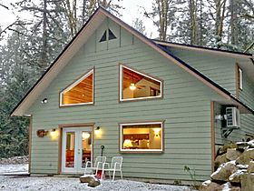 """Ferienhaus 02MBH Cabin on Acreage with Hot Tub"" in Deming, Washington für 10 Personen (USA)"