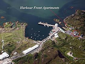 Harbour front apartments in Burtonport mit 5 Sternen, Donegal County, Irland