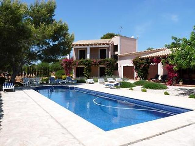 Ferienhaus Anwesen Mit Meerblick Pool Wifi In Portocolom Sud Mallorca Fur 8 Personen Spanien