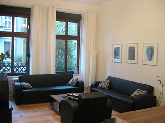 berlin mitte - ruhige ferienwohnung für 6 personen, 2 schlafzimmer