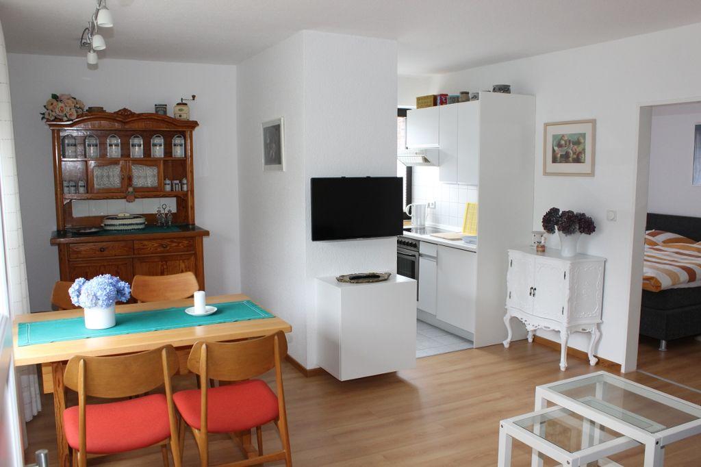 Ferienwohnung zum nordufer stausee haltern am see ferienwohnung 40 qm 1 2 personen 1 for Nett badezimmereinrichtung