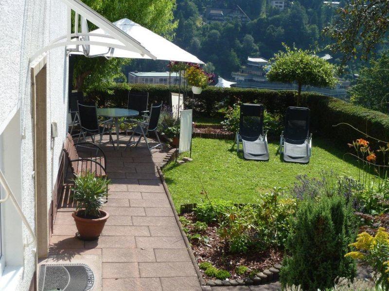 Haus schanzenpforte bad wildbad ferienwohnung 80 qm 2 for Gartengestaltung 700 qm