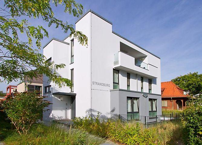 Ferienwohnung Strandburg - Strandburg 02 in Heringsdorf für 4 ...