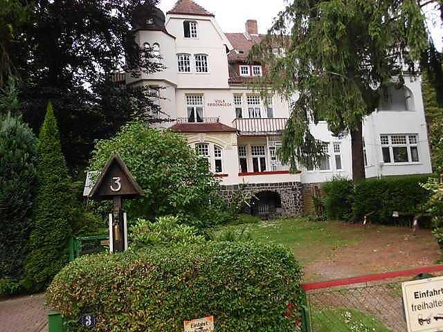 Ferienwohnung Villa Friedenseck - FeWo Nr. II in Bad Harzburg für 3 ...