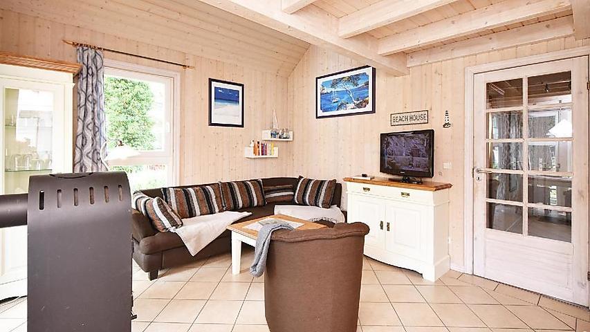 Ferienhaus Strandhaus Seerobbe-direkt hinter den Dünen mit ...