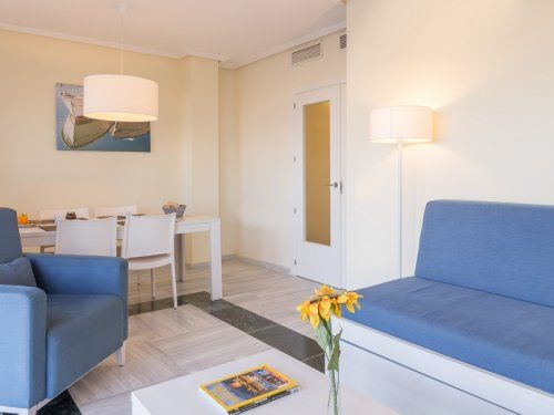 ferienwohnung almer a roquetas de mar appartement 2 zimmer. Black Bedroom Furniture Sets. Home Design Ideas