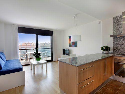 ferienwohnung empuriabrava marina appartement 3 zimmer f r 5 personen klimaanlage standard. Black Bedroom Furniture Sets. Home Design Ideas