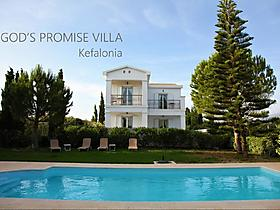"""GODS PROMISE FIVE STAR BOUTIQUE VILLA WITH POOL AND PANORAMIC SEA VIEWS, IN LAKITHRA KEFALONIA"" in Argostolion für 4 Personen (Griechenland)"