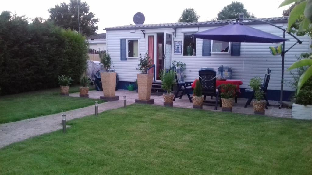Mobilheim Holland Nordseeküste : Gemütliches ferienhaus mobilheim in idyllischem gärtchen mit