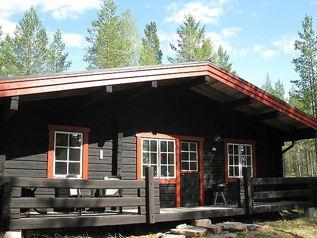 Ferienhaus Am See Kesjön Zwischen Sörsjön Und Nornäs Dalarna