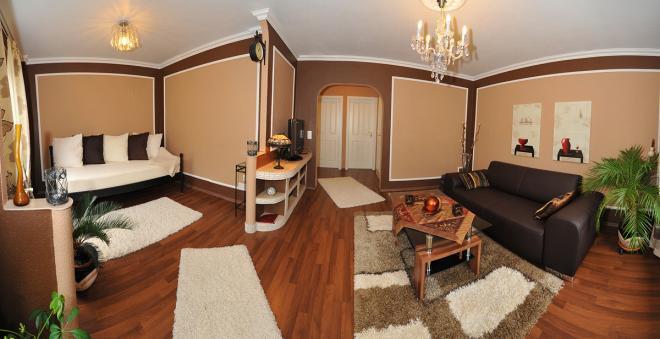 deluxe apartments bremen-luxus ferienwohnungen & business, Wohnzimmer dekoo