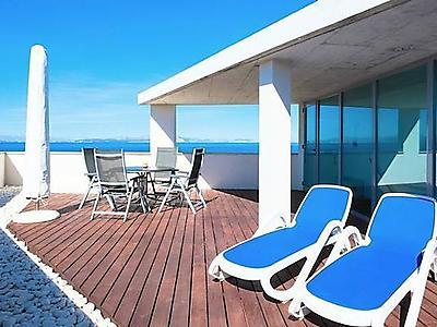 ferienhaus luxuri se designvilla dachterrasse mit meerblick pool b der en suite 500 m zum. Black Bedroom Furniture Sets. Home Design Ideas