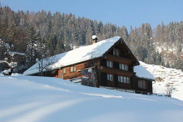 Schiefertisch Schweiz ~ Bauernhof Laui in Ennetbühl für 9 Personen, 3 Schlafzimmer, Hund erlaubt bei