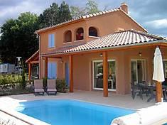 Ferienhaus in Vallon Pont d'Arc, Ardeche. Kundenbewertung: 5 von 5 Punkten