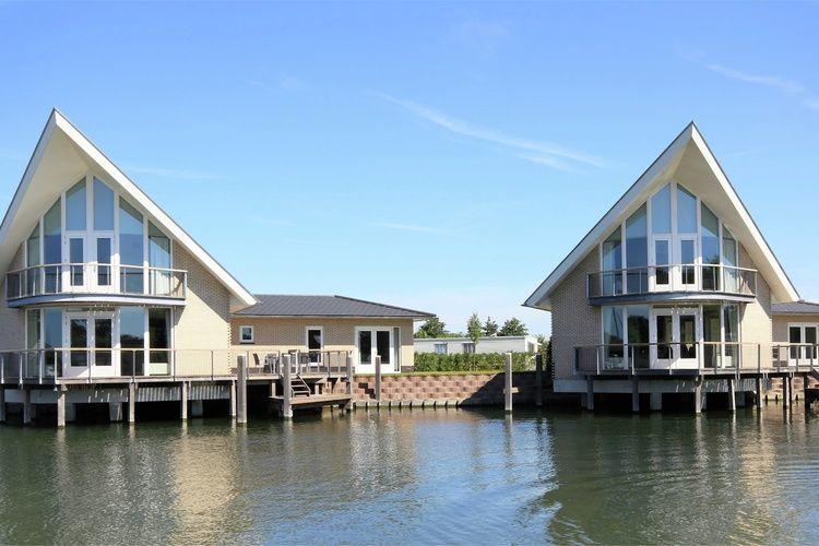 ferienhaus waterpark veerse meer watervilla comfort 6 in arnemuiden f r 6 personen bei tourist. Black Bedroom Furniture Sets. Home Design Ideas