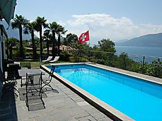 Ferienhaus in Porto Valtravaglia, Lago Maggiore. Kundenbewertung: 5 von 5 Punkten