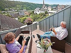 Ferienwohnung in Enkirch, Mosel. Kundenbewertung: 5 von 5 Punkten